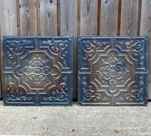 Antique American Tin Tiles