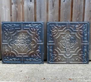 Antique American Tin Tiles