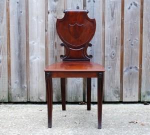 Victorian Mahogany Shieldback Chair